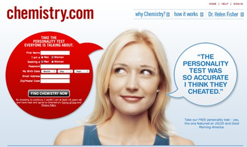 Chemistry Landing Page