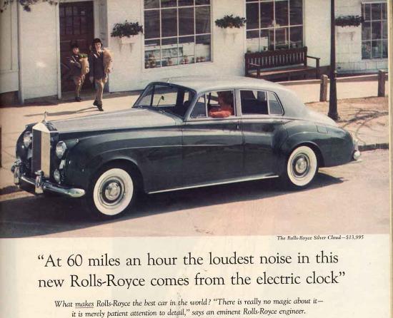 Rols Royce Ogilvy Advertisement