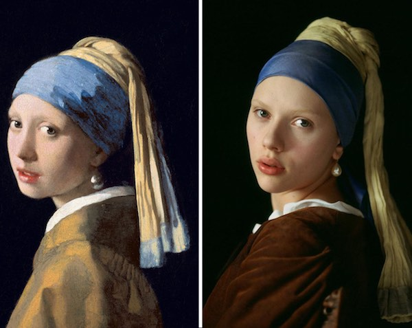 art infusion art vs non art girl with pearl earring